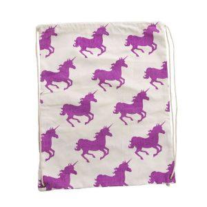 Unicorn Canvas Backpack