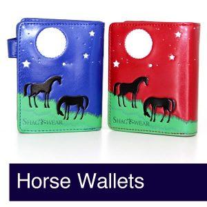 Horse Wallets & Purses