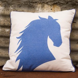 Filly Love Horse Cushion Natural
