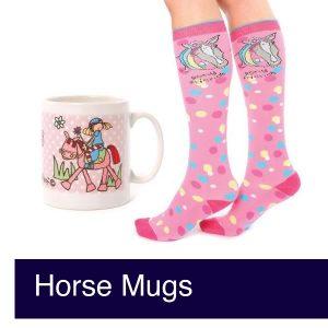 Horse Mugs and Travel Mugs