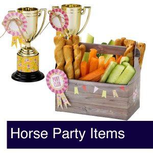 Horse Birthday Party Invites & Decor