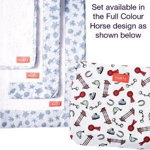 Full Colour Horse Bath Towel Collection