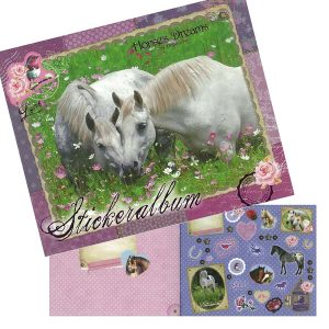 Horse Dreams Sticker Album