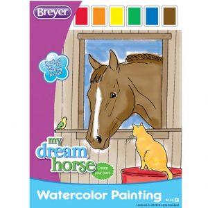 Breyer Watercolour Activity book