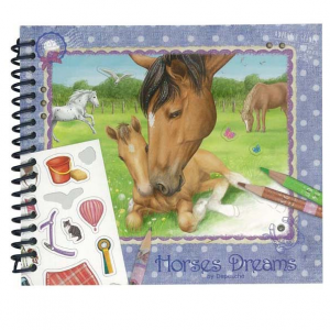 New Horse Dreams Colouring in Book