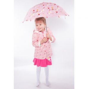 Powell Craft Pony Print Rain Mac