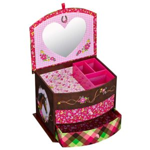 Horse Jewellery Box with draws.