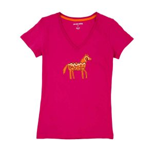 Petroglyph Horse Women's PJ Top