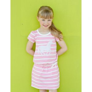 Hatley Dropped Waist Horse Dress