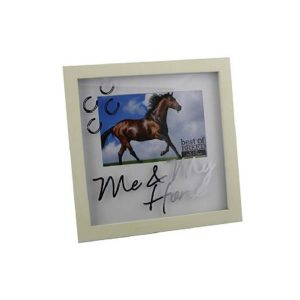 Me and my horse photo frame