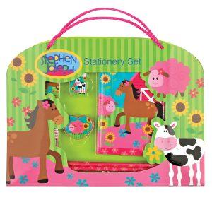 Farm Girl Stationery Set
