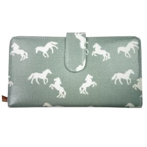 Light Blue Horse Wallet