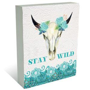 Stay Wild Plaque Block