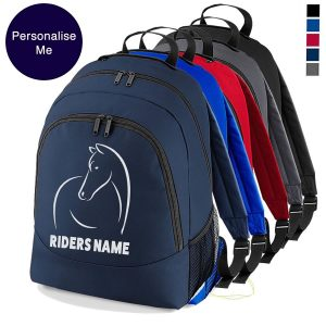 Line Horse Backpack