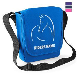 Line Horse Reporter Bag