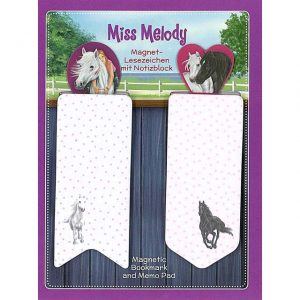 miss melody magnetic bookmark