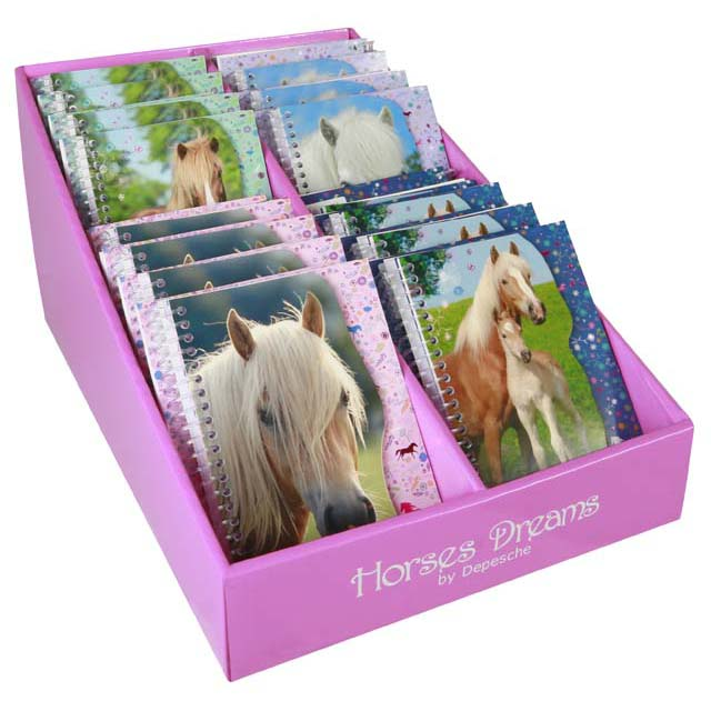 Horse Dreams Spiral Notebook