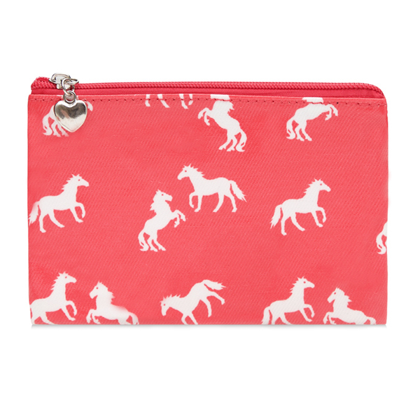 Pink Horse Pouch Purse