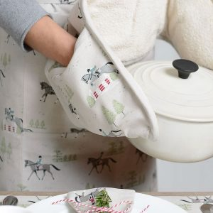 Horses Adult Apron and Horses double Oven Glove