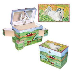 Hideaway Horse Music Box