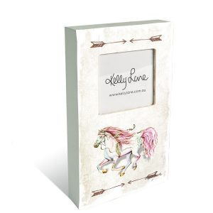 Pony Photo Frame Block