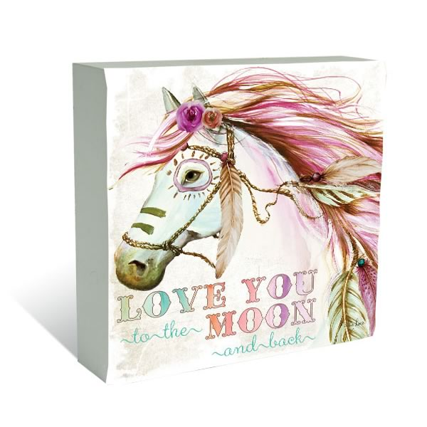 pony love you to the moon and back
