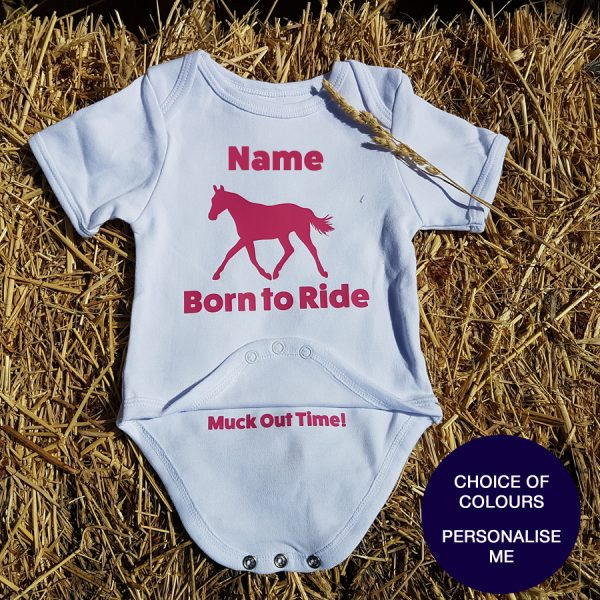 BORN TO RIDE baby suit