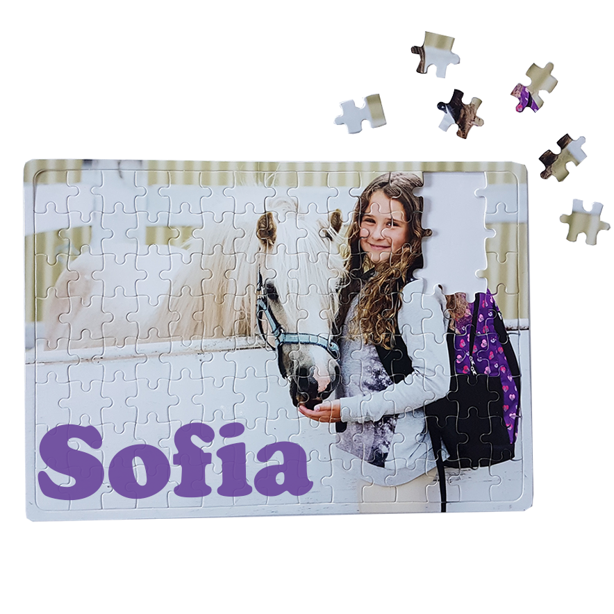 personalised Horse Puzzle