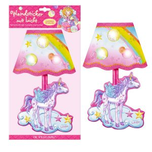 unicorn stickers with lights