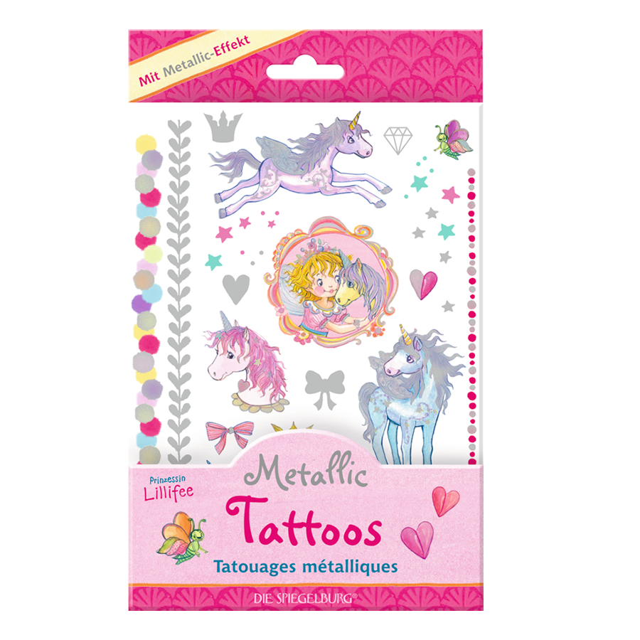 metallic unicorn tattoos