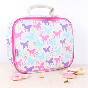 playful ponies lunch box
