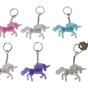 mystical unicorn keyring