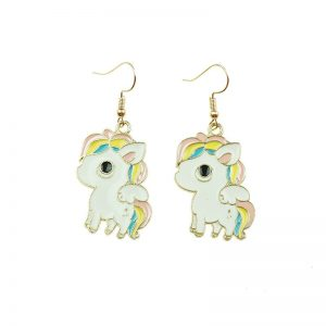 Unicorn Drop Earrings