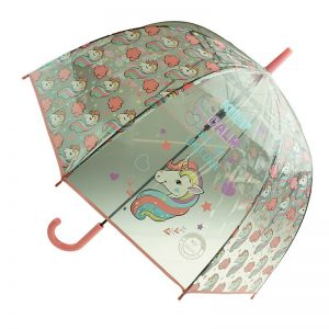 unicorn umbrella pink