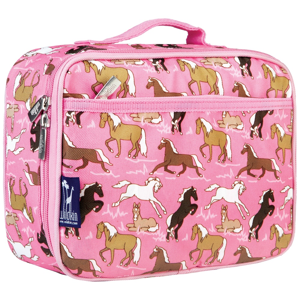 Horses In Pink Lunch Box Horse Lunch Boxes Filly Amp Co