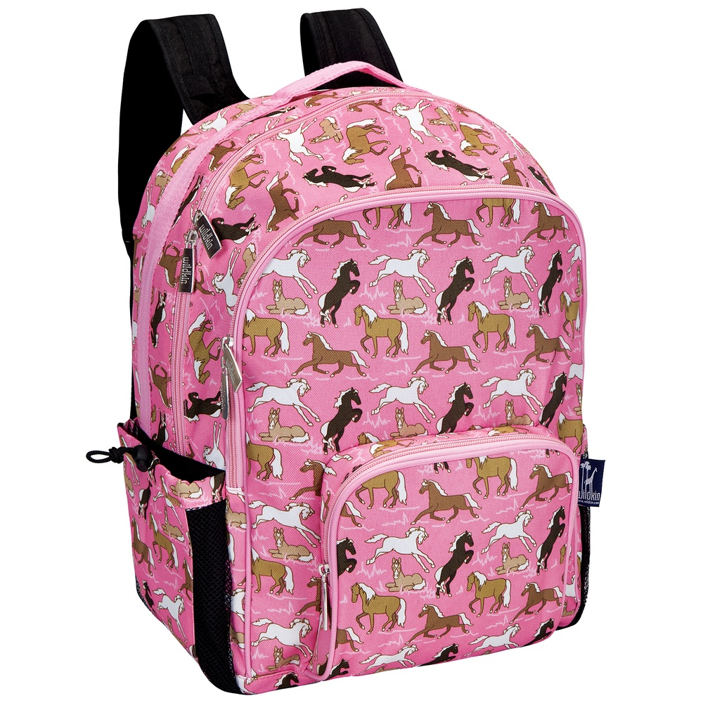 Horses in Pink Backpack - Horse Backpacks | Filly & Co