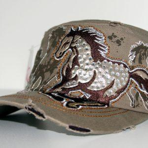 Galloping Horse Cap