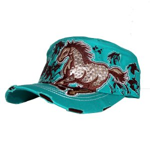 Galloping Horse Cap - Range of Colours
