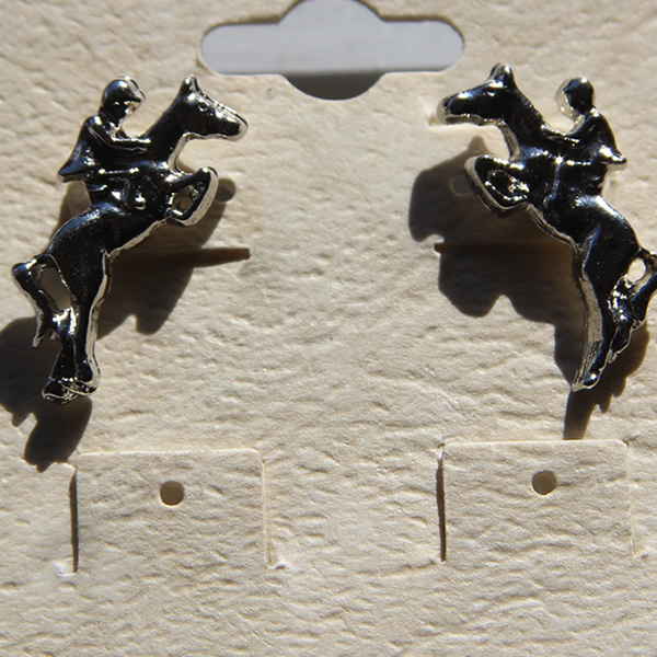 Horse Racing Earrings