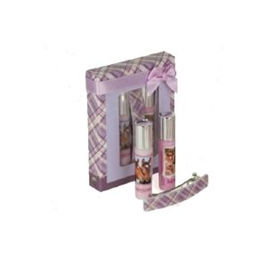 Horse Dreams Lipgloss and Hairslide Set Purple