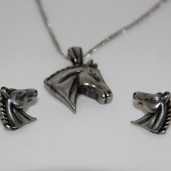 Horse Head Jewellery Set