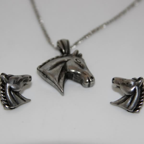 Horse Head Jewellery Set