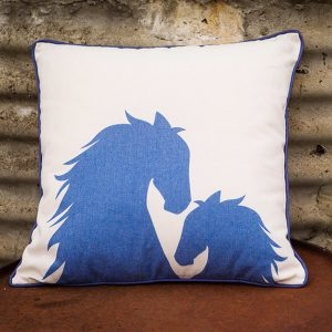 Filly Love Mare and Foal Cushion Natural