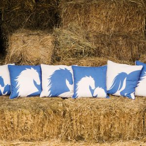 Filly Love Horse Cushions