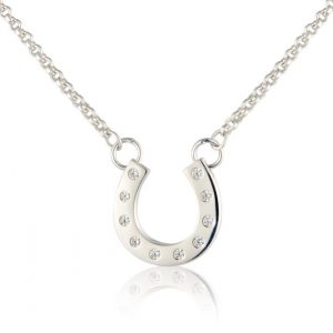 Gallop Sparkly Hoof Necklace