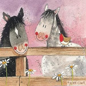Alex Clark Horse Whispers Card