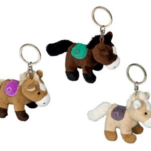 Cute Horse Keyring Horse Friends