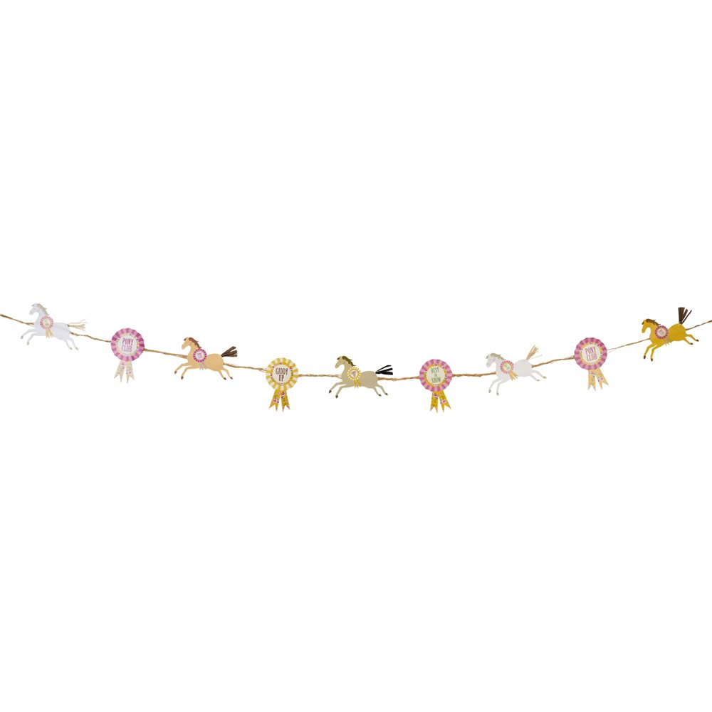 Horse Party Garland