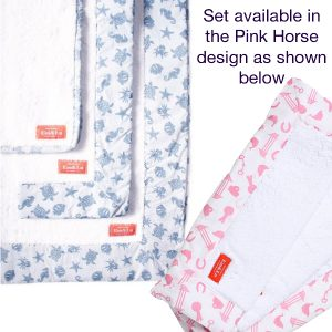 Pink Horse Towel Collection