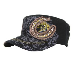 Horseshoe Cap Black